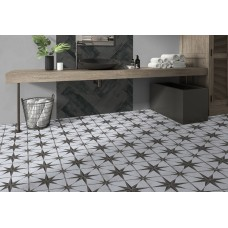 Enchanted Grey 45CMx45CM Pre Cut Porcelain Feature Floor And Wall Tile