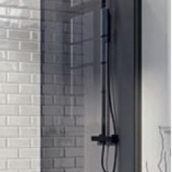 Mono Square Edge 6mm Thick Bath Screen