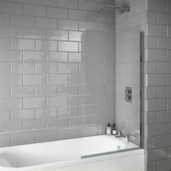 Radius Edge 6mm Thick Bath Screen