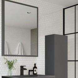 Ambience Mirror 800 x 600  Matt Grey