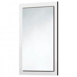 Wood Frame Mirror Gloss White