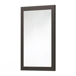 Wood Frame Mirror Matt Grey