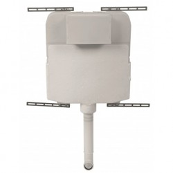 Concealed Cistern with  Polystyrene Jacket and Top Inlet