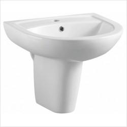 Deia / Belini 450mm Semi-Pedestal & Basin