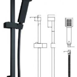 Black Square Riser Rail Kit