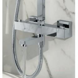 Block Rigid Riser Shower With Bath Filler