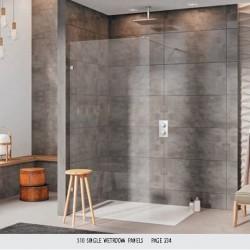 S10 Single Wetroom Panel