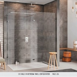 S10 Walk In Wetroom Panel Configuration