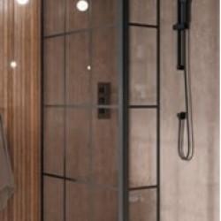 S8 Grid Single Wetroom Panel