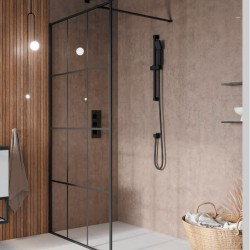 S8 Grid Walk In Wetroom Panel Configuration