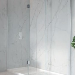 S8 700mm Wetroom With Return Panel