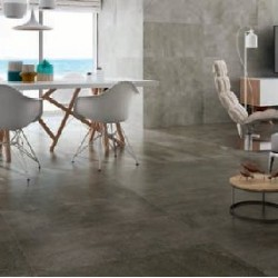 New Waves Dark Grey Gris Large 45x90 Wall And Floor