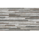 Brix Strathum Grey Spliface Feature Wall Tile 33x55cm