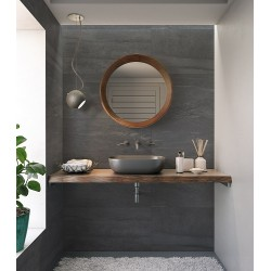 Peak Sand Dark Grey Matt Wall And Floor Porcelain 30x60cm
