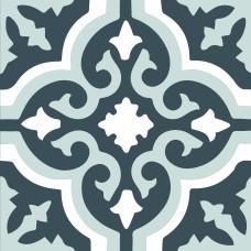 Lancaster Grey Blue 45x45CM Pre-Cut Porcelain Wall And Floor Feature Tile