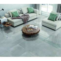 Oxedium Digital Grey Super Polished Mirror High Gloss Large 120x60 Wall and Floor