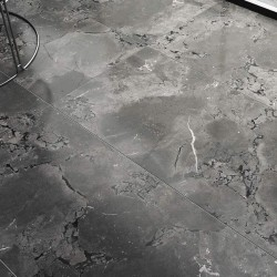 Vesuvius Dark Grey Anthracite Digital Lappato Rectified Large 1200x600 Wall And Floor
