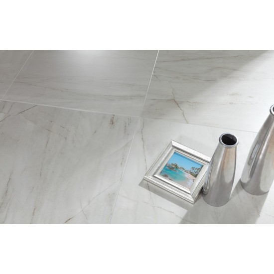 Carrara Latte 60x60 porcelain Wall And Floor Tile