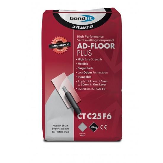 Bond IT Ad-Floor Plus Fully Flexible 20KG Floor Leveling Compound