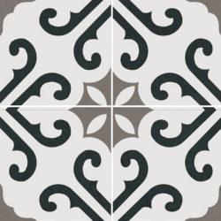 Derby Grey 45CMx45CM Pre-Cut Porcelain Wall And Floor Feature Tile