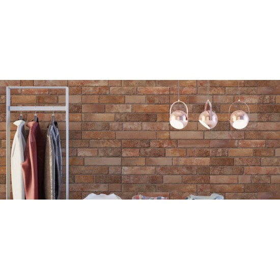 Brick Teja 33x55CM Ceramic Bathroom Kitchen Living Room Feature Wall Tile