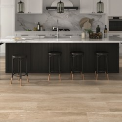 Leah Rectified Porcelain Wood Effect Beige 120CM X 23.3CM Wall And Floor Tile