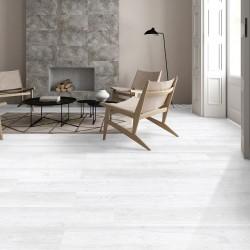 Lantis Hickory Porcelain Wood Effect Silver White 24CM X 88CM Wall And Floor Tile
