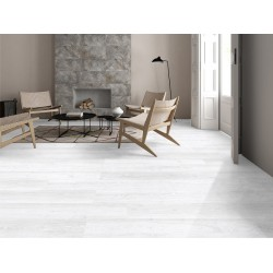 Lantis Hickory Porcelain Wood Effect Silver White 24CM X 88CM Wall And Floor Tile