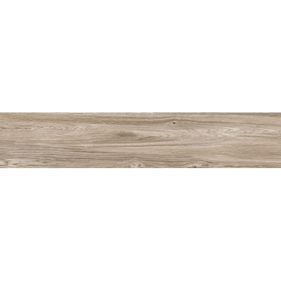 Blitz Knots Porcelain Wood Effect Taupe 120CM X 23CM Wall And Floor Tile