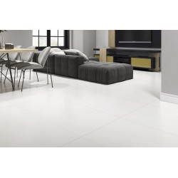 Super Paper White Polished Porcelain 60x60cm Floor