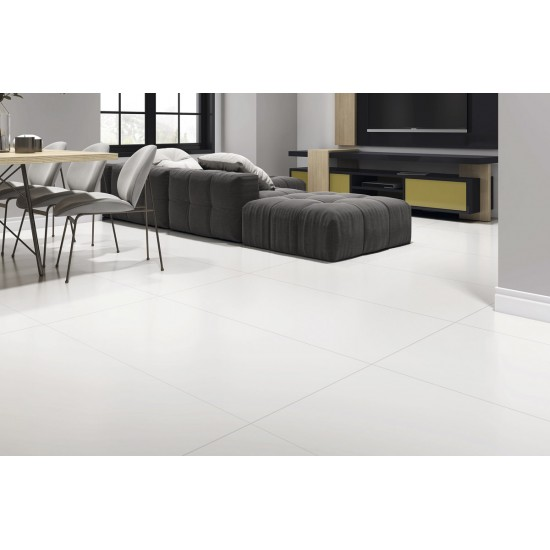 Super Paper White Polished Porcelain 60x60cm Floor And Wall Tiles