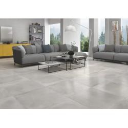Cementos Cloud Patch Silver Light Grey Matt Floor 60x60cm
