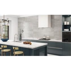Peak Silver Grey Matt Ceramic Wall Tiles 30x60cm