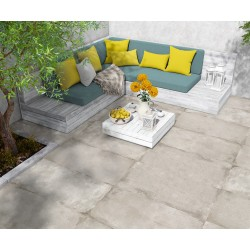Inception Limestone Porcelain Outdoor Antislip 60x60 Wall and Floor Tiles