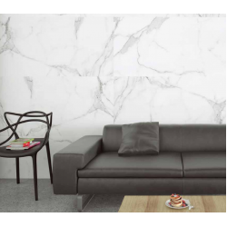 Carrara Digital Marble White Matt Satin Rect Large 1200x600 Wall and Floor