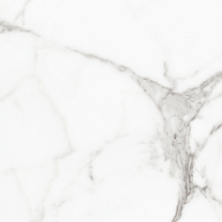 Carrara Digital Marble White Gloss Rect Large 80x80 Wall and Floor