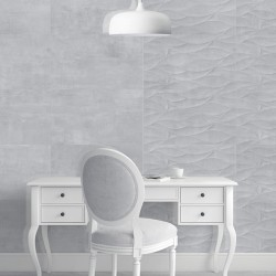 Shore Gris 33x55 Gloss Ceramic Kitchen and Bathroom Wall Tiles