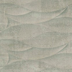 Shore Taupe Wave Feature 33x55 Gloss Ceramic Kitchen and Bathroom Wall Tiles