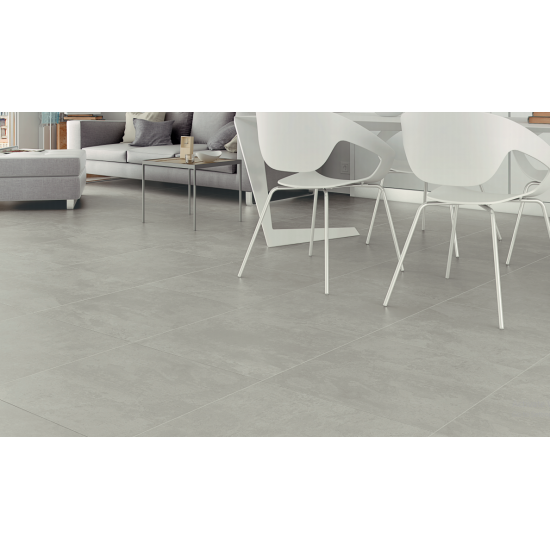 Rectorie Grey Taupe Satin Porcelain Floor 60x60