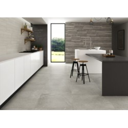 Neval Rectified Light Grey Gloss 60x60