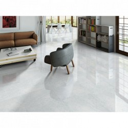 Neval Rectified Ice White Gloss 60x60
