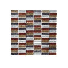 Autumn Mix Glass Mosaic 30x30cm